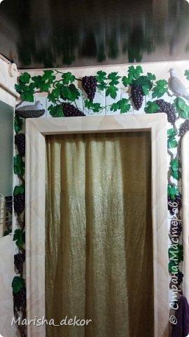 Моя новая работа. Лепная арка в помещении. фото 6