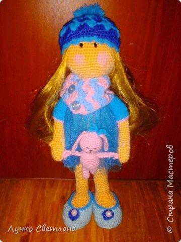 кукла с зайкой фото 1
