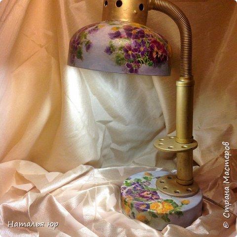 Старая лампа фото 1