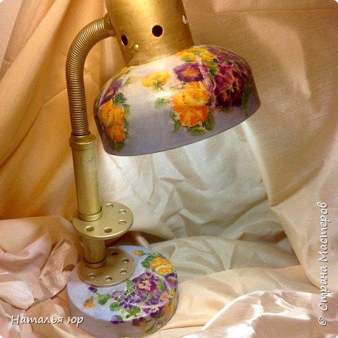 Старая лампа фото 2