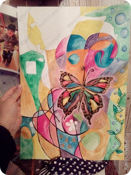 Мой рисунок...полная отсебятина.После него решила освоить рисование за 30 дней.Вот ссылка на ресурс по которому учусь.Спасибо огромное автору! http://www.web-paint.ru/uroki-risovaniya/nauchitsya-risovat-za-30-dnej фото 5