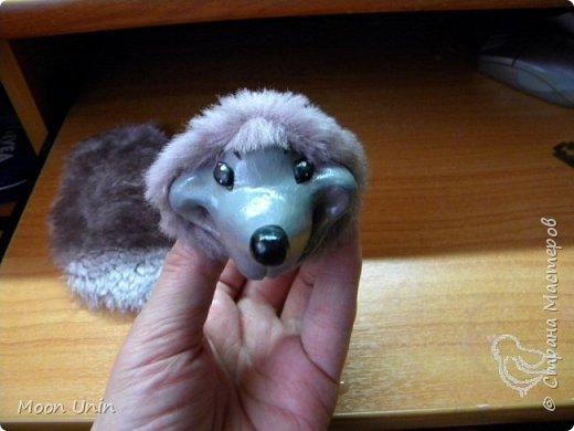 Знакомьтесь - крыс по имени Пасюк! :) Моя первая игрушка, выполненная в смешанной технике - голова и лапы из полимерной глины, туловище из искусственного меха. фото 11