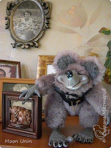 Знакомьтесь - крыс по имени Пасюк! :) Моя первая игрушка, выполненная в смешанной технике - голова и лапы из полимерной глины, туловище из искусственного меха. фото 42