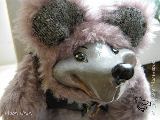 Знакомьтесь - крыс по имени Пасюк! :) Моя первая игрушка, выполненная в смешанной технике - голова и лапы из полимерной глины, туловище из искусственного меха. фото 14