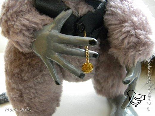 Знакомьтесь - крыс по имени Пасюк! :) Моя первая игрушка, выполненная в смешанной технике - голова и лапы из полимерной глины, туловище из искусственного меха. фото 19
