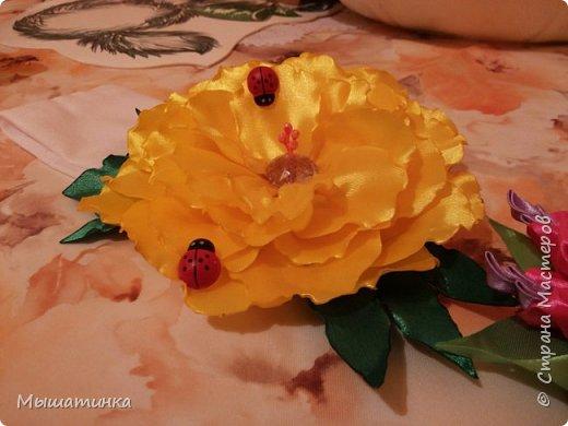 Третья моя болезнь - канзаши и все что с эти связано - готовилась к выпускному из сада дочери - сделала в подарок воспитателям фото 16