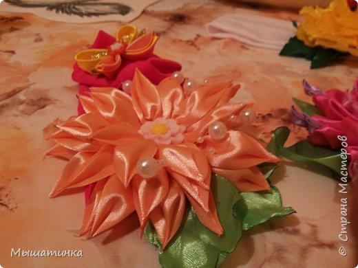 Третья моя болезнь - канзаши и все что с эти связано - готовилась к выпускному из сада дочери - сделала в подарок воспитателям фото 17