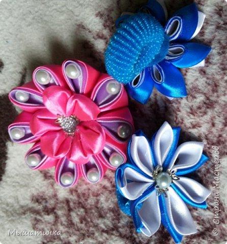 Третья моя болезнь - канзаши и все что с эти связано - готовилась к выпускному из сада дочери - сделала в подарок воспитателям фото 8