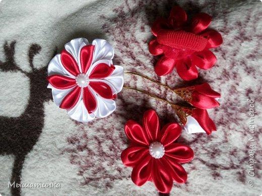 Третья моя болезнь - канзаши и все что с эти связано - готовилась к выпускному из сада дочери - сделала в подарок воспитателям фото 12