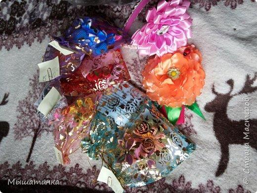Третья моя болезнь - канзаши и все что с эти связано - готовилась к выпускному из сада дочери - сделала в подарок воспитателям фото 6