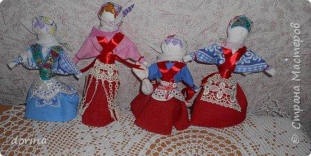 Авторская кукла, по мотивам народной тряпичной куклы  фото 2