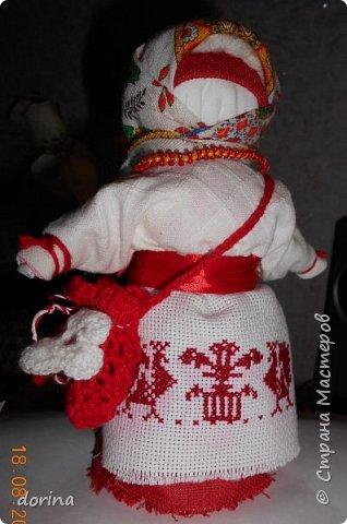 Авторская кукла, по мотивам народной тряпичной куклы  фото 1