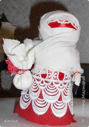 Авторская кукла, по мотивам народной тряпичной куклы  фото 3