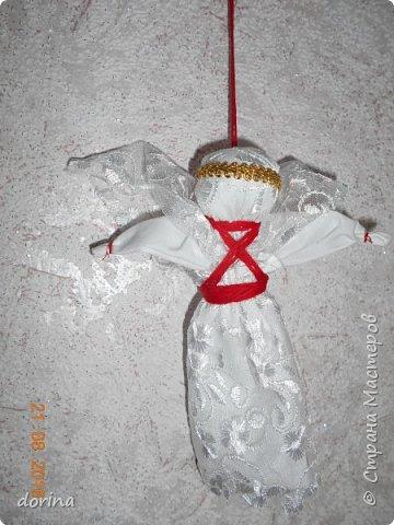 Авторская кукла, по мотивам народной тряпичной куклы  фото 8