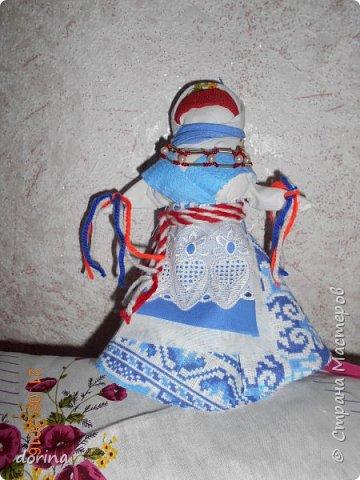 Авторская кукла, по мотивам народной тряпичной куклы  фото 5