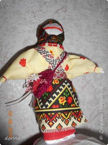 Авторская кукла, по мотивам народной тряпичной куклы  фото 4