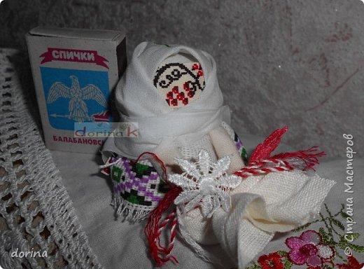 Авторская кукла, по мотивам народной тряпичной куклы  фото 7