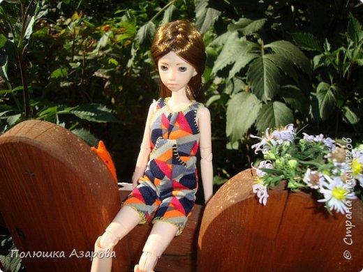 Рассказ от лица Дины: - Здрувствуйте! Меня зовут Дина, я чистокровная Obitsu, молда Харука. Во мне 25см роста и у меня есть Лис. фото 8