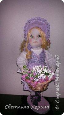 Девочка с цветами фото 3