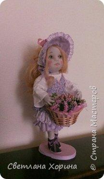 Девочка с цветами фото 4