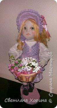 Девочка с цветами фото 2
