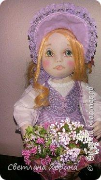 Девочка с цветами фото 1