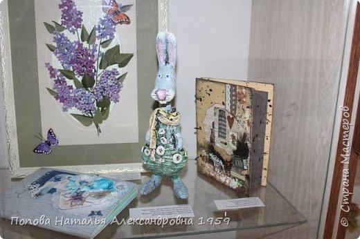 Прошла отчетная выставка в ДДТг. Чебоксары Ч. Р. Мои чудесные фигурки из папье- маше эффектно украсили нашу выставку.                          фото 4