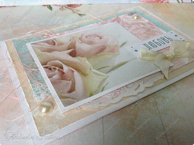"""Сотворились у меня простенькие открыточки, которые я назвала """"открыточками для настроения"""". Меня попросили сделать именно простенькие, но чтобы их можно было подарить любимому человеку без повода, для поднятия или поддержания хорошего настроения  фото 4"""