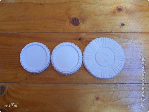 Набор с ящерицей. Шкатулка из консервной банки,с применением шпаклёвки,ящерица,листочки из солёного теста. фото 9