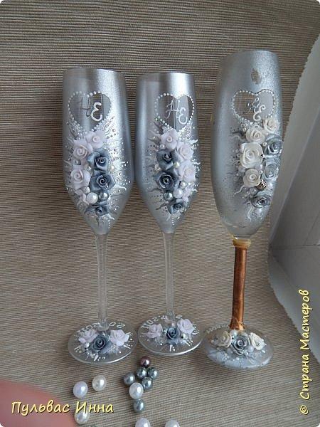 бокалы серебрянные фото 7