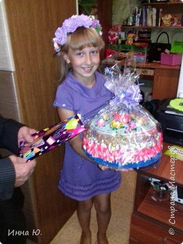 Здравствуйте,уважаемые Мастера и Мастерицы!На днях моя племянница праздновала своё десятилетие.Вот я и решила порадовать её тортиком-шкатулкой. фото 5