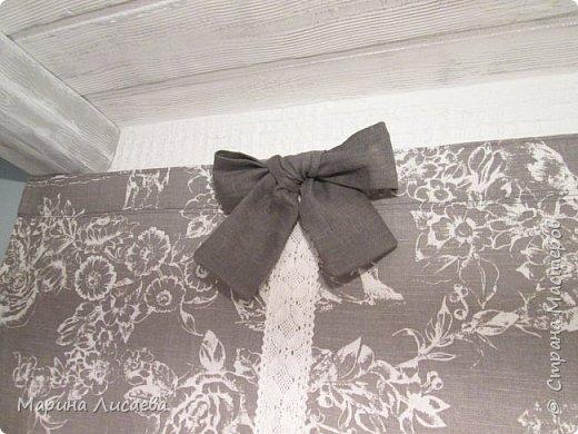 Здравствуйте, мои дорогие жители СМ! Закончила шить шторку в свою мини-мастерскую. Хотела показать вам, когда вся мастерская будет доделана, но... не удержалась.  фото 9