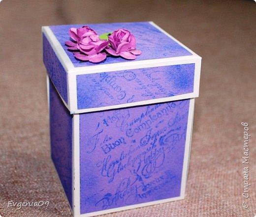 Всем здравствуйте! Давно смотрела на волшебные коробочки,  и все боялась сама попробовать такую сделать. Казалось сильно сложно. Но вот приблизился очередной день рождения и я решилась!