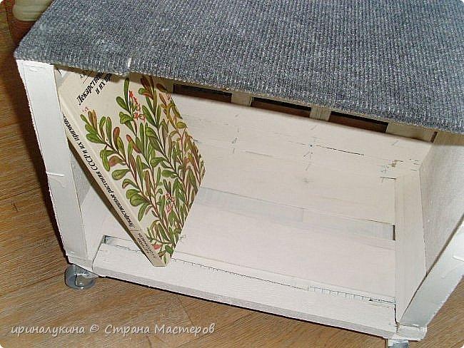 два фанерных ящика от фруктов.скручиваем шурупами донышками фото 3