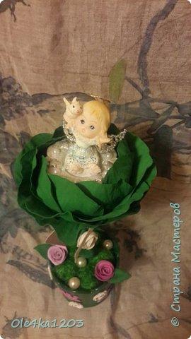 Ангелок в капусте на рождение фото 1