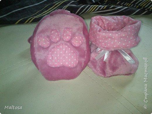 """Для своей первой дочурки сшила комплект на выписку """"розовый котёнок"""" фото 7"""