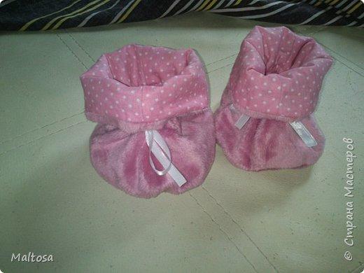 """Для своей первой дочурки сшила комплект на выписку """"розовый котёнок"""" фото 6"""