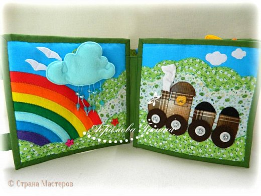 Яркая, красочная, сочная развивающая книжка для малышей. фото 2
