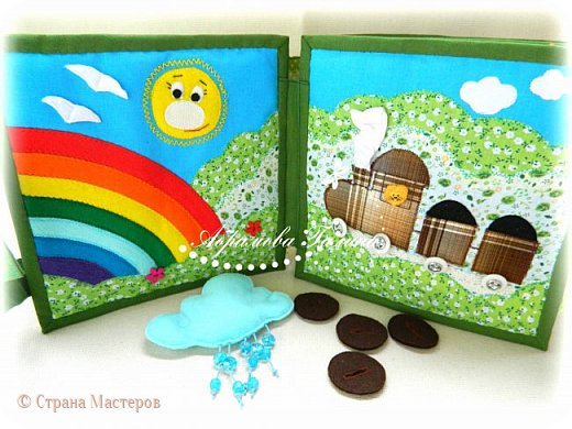 Яркая, красочная, сочная развивающая книжка для малышей. фото 3