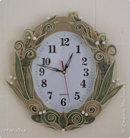 Вдохновясь чудесными работами Веры Пушиной и Jalilija http://stranamasterov.ru/user/402095, создалась у меня пара настенных часов. Эти - уже вторые, сделаны по просьбе коллеги. фото 1