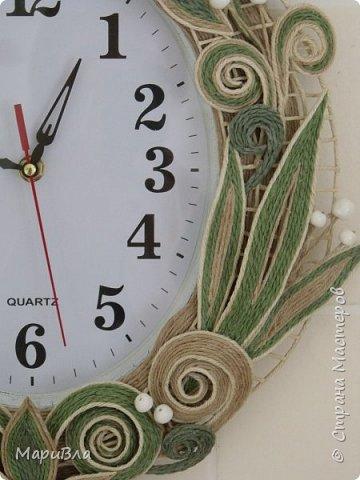 Вдохновясь чудесными работами Веры Пушиной и Jalilija http://stranamasterov.ru/user/402095, создалась у меня пара настенных часов. Эти - уже вторые, сделаны по просьбе коллеги. фото 2