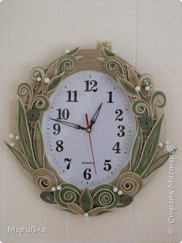 Вдохновясь чудесными работами Веры Пушиной и Jalilija http://stranamasterov.ru/user/402095, создалась у меня пара настенных часов. Эти - уже вторые, сделаны по просьбе коллеги. фото 5