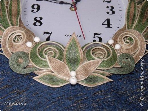 Вдохновясь чудесными работами Веры Пушиной и Jalilija http://stranamasterov.ru/user/402095, создалась у меня пара настенных часов. Эти - уже вторые, сделаны по просьбе коллеги. фото 4