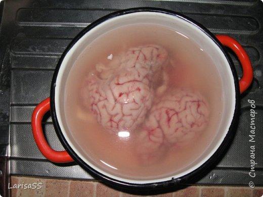 Добрый день, дорогие мастерицы! Не претендую на ВАУ-пост, просто хочу поделиться с вами рецептом одного из своих любимых блюд. Грибочки с мозгами - обожаю! фото 4