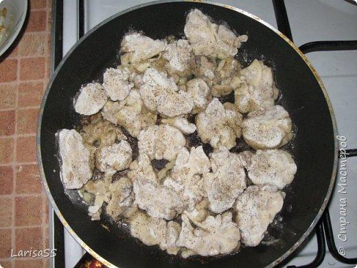 Добрый день, дорогие мастерицы! Не претендую на ВАУ-пост, просто хочу поделиться с вами рецептом одного из своих любимых блюд. Грибочки с мозгами - обожаю! фото 7