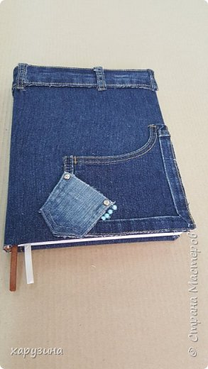 Джинсовая одежка для ежедневников фото 6