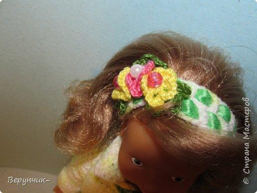 Моя коллега коллекционирует старых кукол ГДРок и пупсов,они часто ей достаются в плачевном состояние и без одежды,вот она и попросила меня принарядить некоторых из них. фото 3