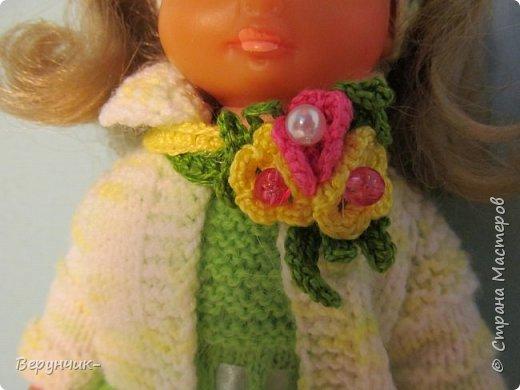 Моя коллега коллекционирует старых кукол ГДРок и пупсов,они часто ей достаются в плачевном состояние и без одежды,вот она и попросила меня принарядить некоторых из них. фото 4