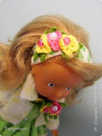 Моя коллега коллекционирует старых кукол ГДРок и пупсов,они часто ей достаются в плачевном состояние и без одежды,вот она и попросила меня принарядить некоторых из них. фото 10