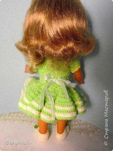 Моя коллега коллекционирует старых кукол ГДРок и пупсов,они часто ей достаются в плачевном состояние и без одежды,вот она и попросила меня принарядить некоторых из них. фото 11